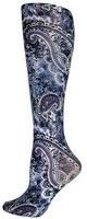 Big Purple Paisley Trouser Socks