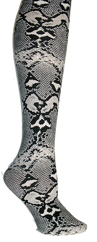Python Black Trouser Socks
