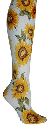 Sunflowers Adult Tights