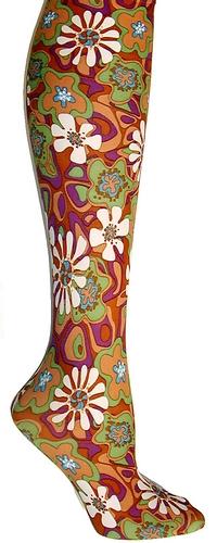 Daisy Retro pk/red/grn Trouser Socks