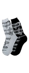 Music Notes Women's Socks
