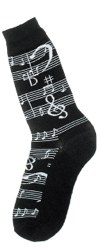 Men's Music Notes Socks