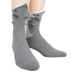 Men's Great White 3-D sock