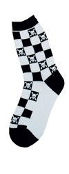Skull Check  Women's Socks