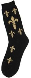 Fleur-de-Lis Women's Socks