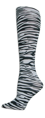 Zebra Trouser Socks