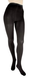 Large Tall Combed Cotton Tights