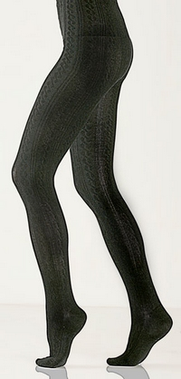 Rayon made from Bamboo Cable Tights