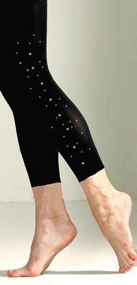 Microfiber Leggings w/crystals