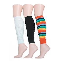 Flat Knit Leg Warmers