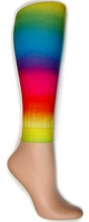 Rainbow Footless Tights