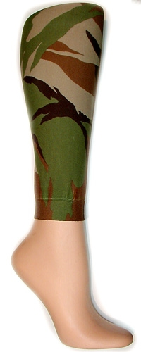 Camouflage Footless Tights