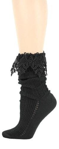 Slouch Lace Socks