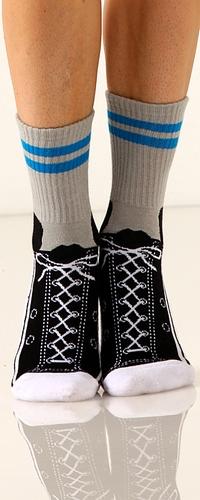 Sneaker Slipper Socks