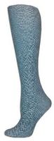 Platinum Snakeskin Trouser Socks