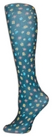 Lauras Garden BlackTights-Large/Tall