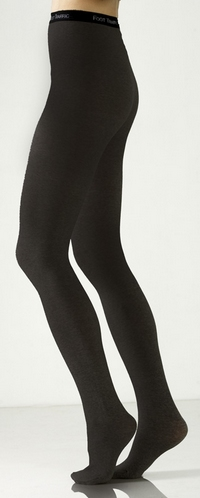 Petite Signature Combed Cotton Tights