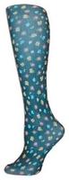 Lauras Garden Black Trouser Socks