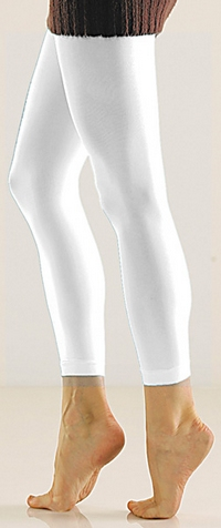Solid Footless Tights-Large/Tall