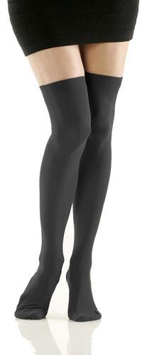 Graphite Thigh Highs