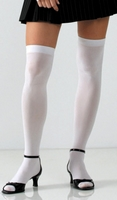 White Thigh Highs