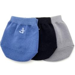 Solid Half Socks Three Pack