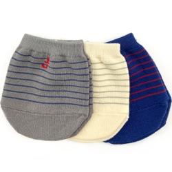 Stripes Half Socks Three Pack