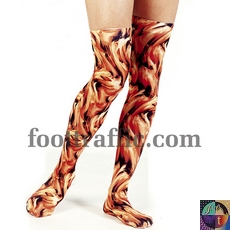 Printed Thigh Highs