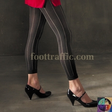 Solid Opaque Footless Tights