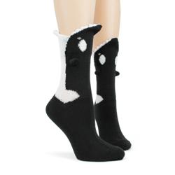 Killer Whale 3-D Sock