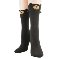 Bear 3-D Sock