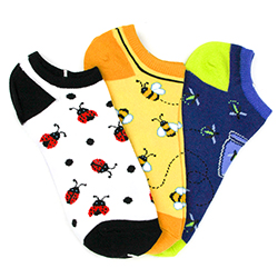 Bugs No-Shows (3 pair pack)