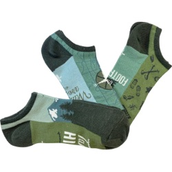 Get Outdoors Women's No-Shows 3-Pair Pack