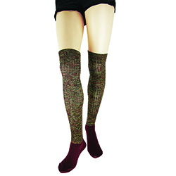 Super Long  Over the Knee Sock