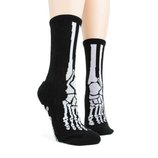 Bones Slipper Sock