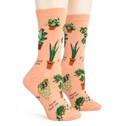 women's houseplants plant socks side view on mannequin