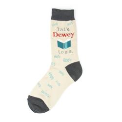 Talk Dewey Women's Socks