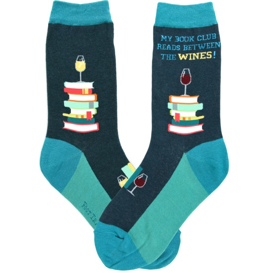 Book Club Women's Socks