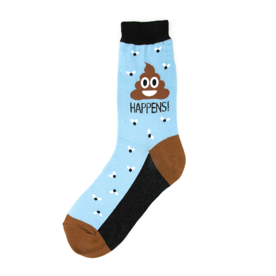 Poop Happens Women's Socks