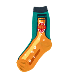Beer Neck Women's Socks