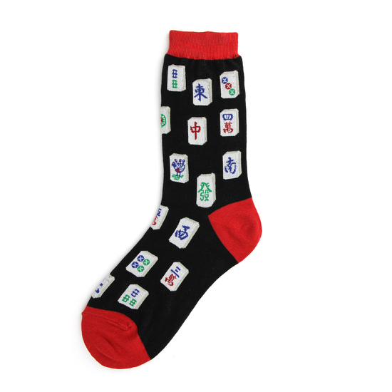 Mahjong Women's Socks