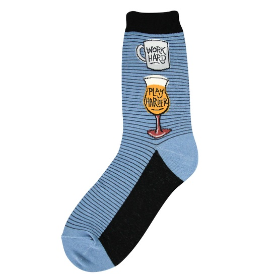 Work Hard Women's Socks