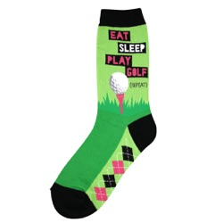 Eat Sleep Golf Women's socks