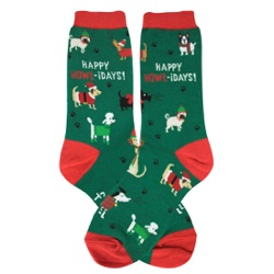 Happy Howlidays Women's Socks