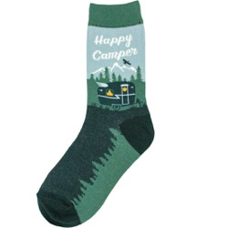 Happy-Camper-Womens-Socks