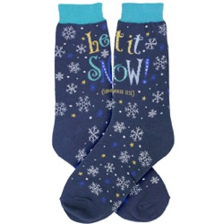 Let It Snow Women's Socks