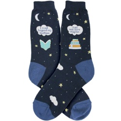 Bedtime Reading Women's Socks