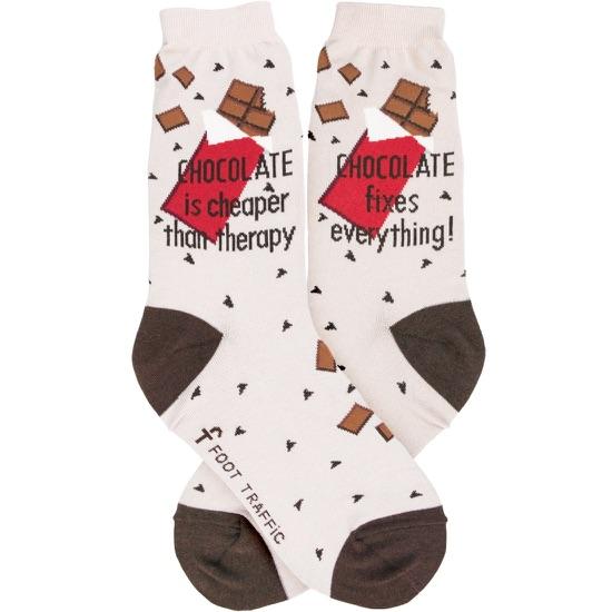 Chocolate Women's Socks