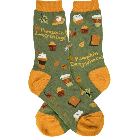 Pumpkin Everything Women's Socks