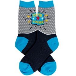 Super Teacher Women's Socks